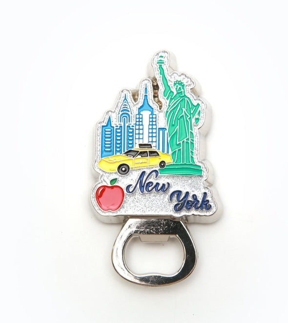 New York City Souvenir Metal Bottle Opener