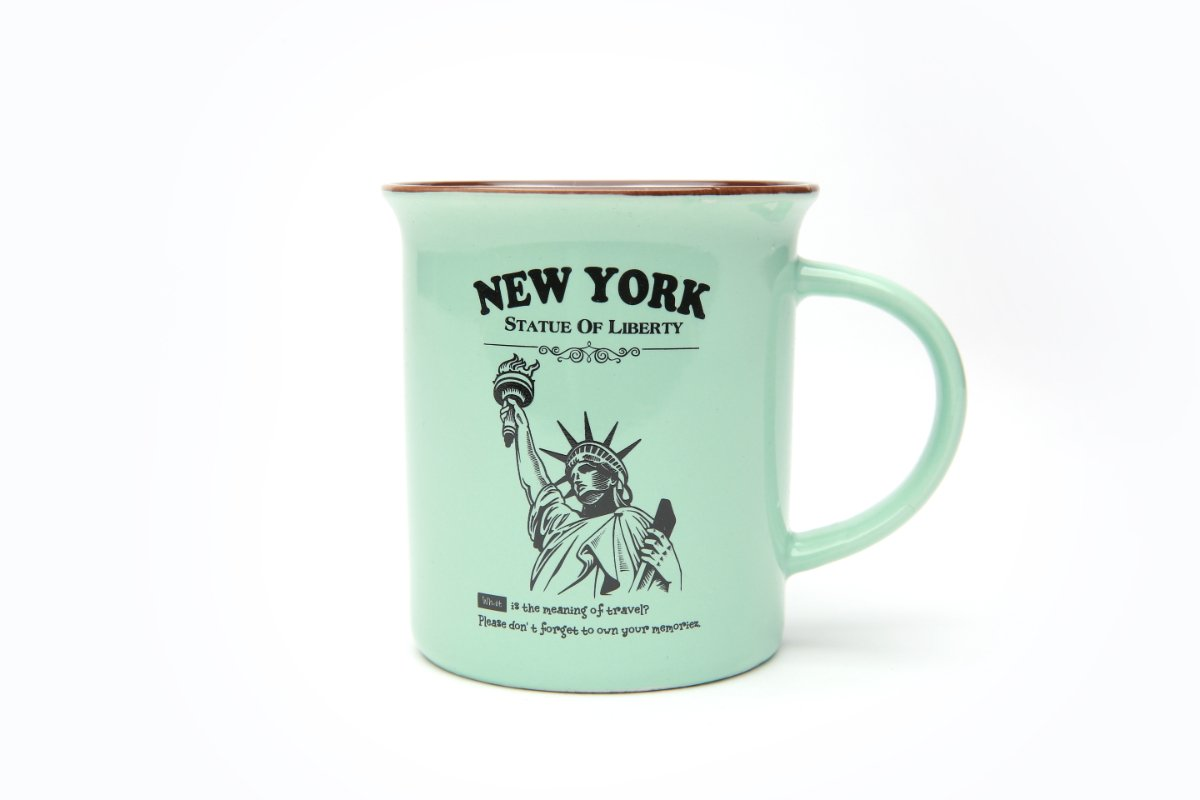 12 ounce Mint Statue of Liberty Campfire Mug in Gift Box