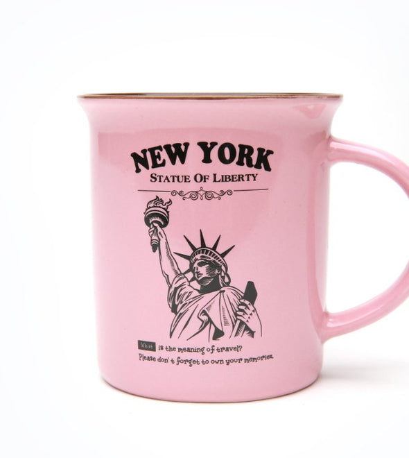 12 ounce Pink Campfire Mug in Gift Box