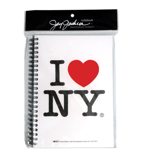 I Love NY Large Spiral Notebook