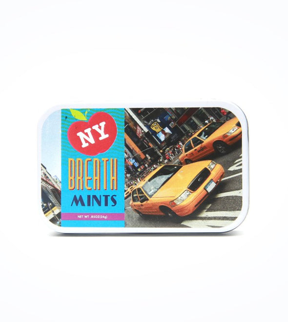 New York Breath Mints in a Tin