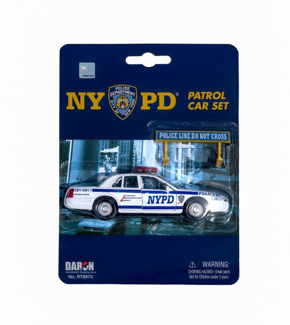NYPD Police Car Toy
