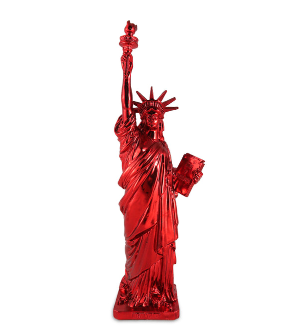 12 Inch Statue of Liberty Electroplated Souvenir Statue