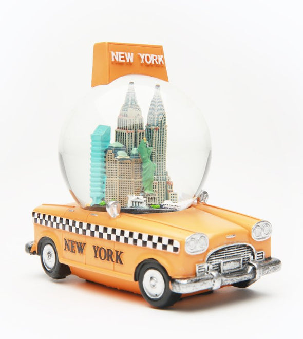65mm New York Taxi Snow Globe