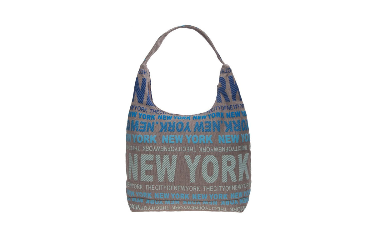 City of New York Blue Multicolor Bag