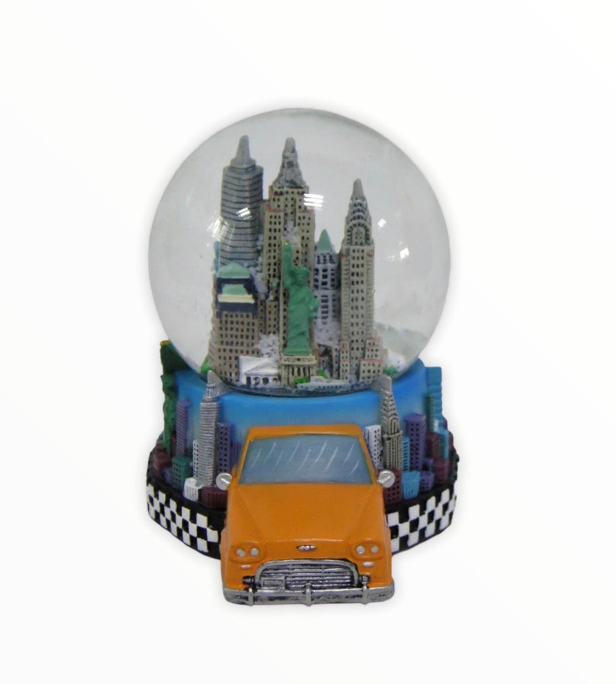 45mm New York Tax 3 Dimensional Snow Globe