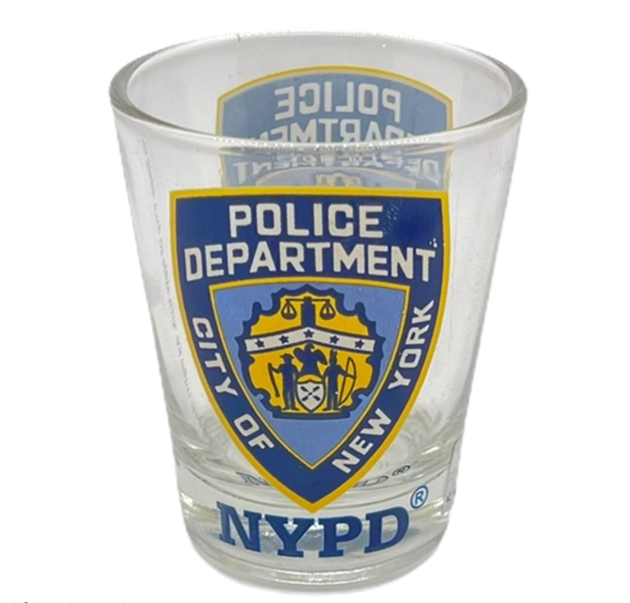 NYPD Shot Glass