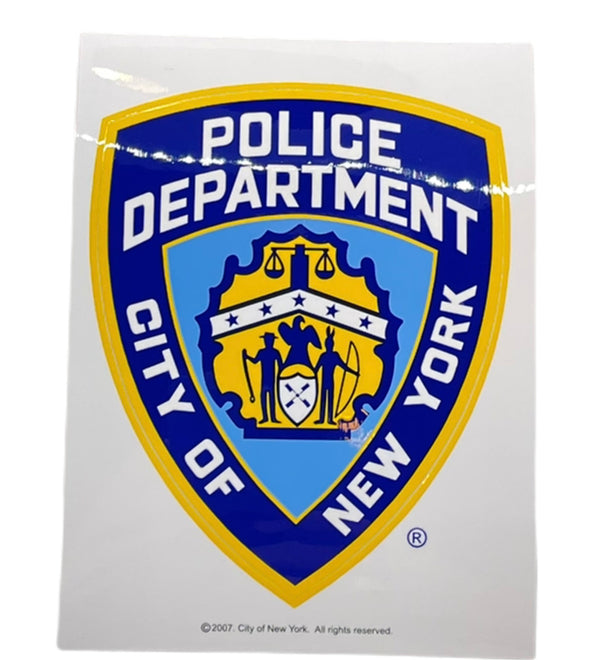 NYPD Sticker