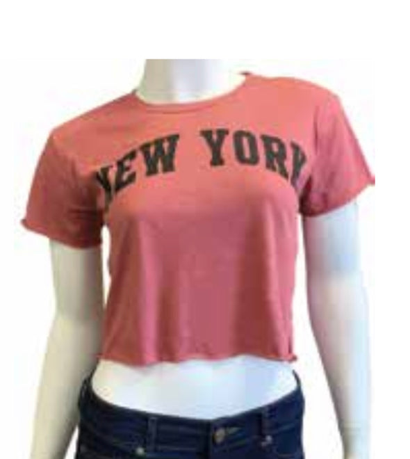 Ladies Paprika Crop Top