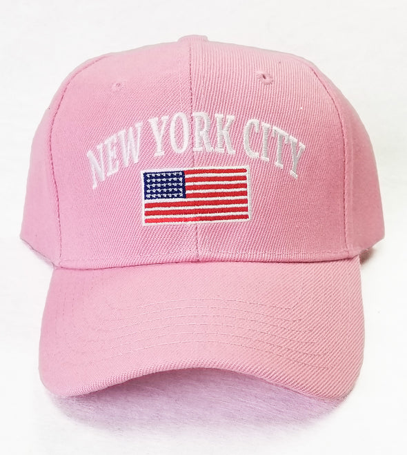New York City Embroidered Hat