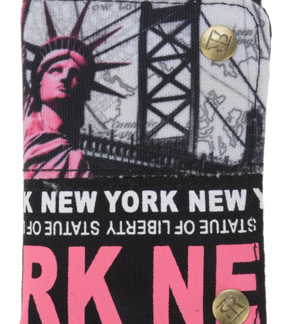 Robin Ruth Pink Statue of Liberty Wallet