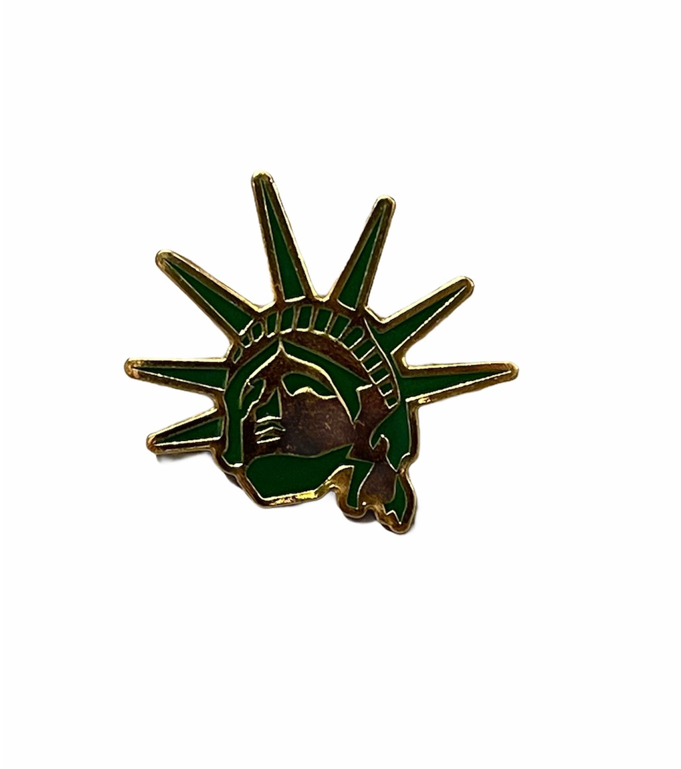 Statue Face Lapel Pin