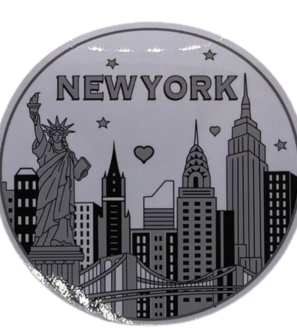 NYC Iconic Skyline Sticker