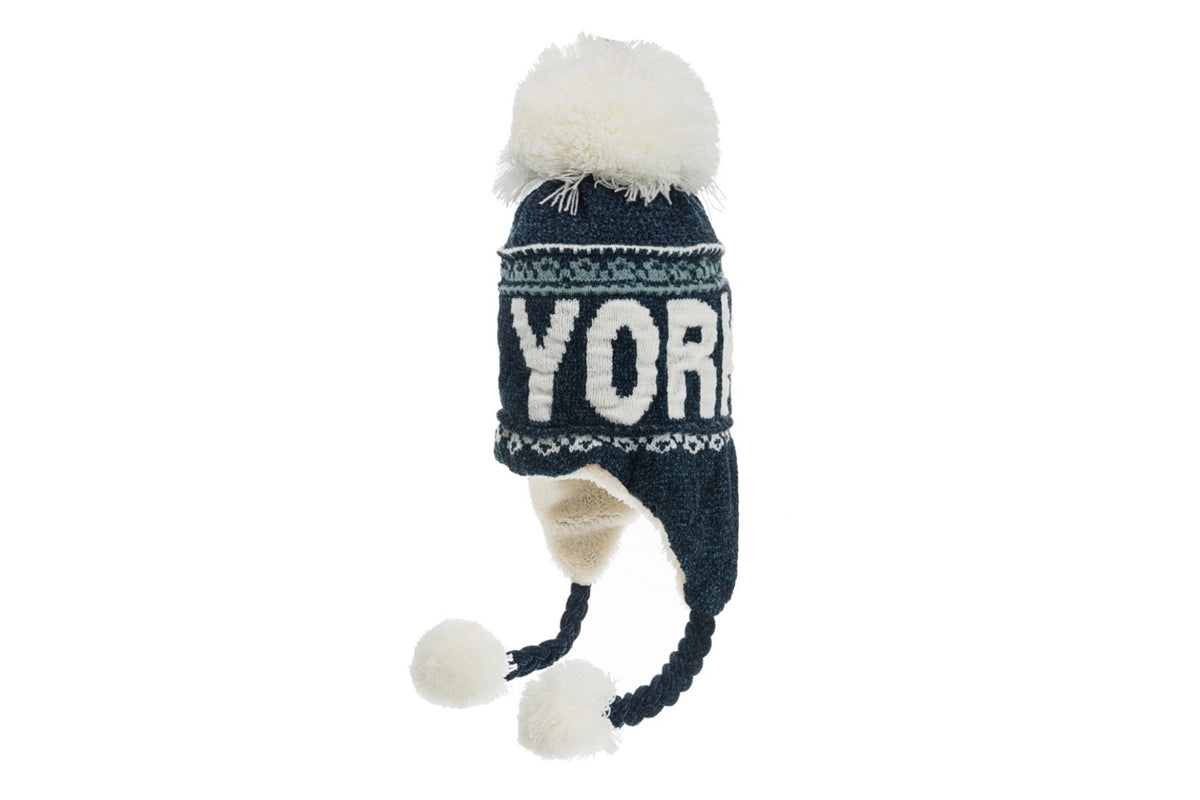 New York Pom Pom Hat Winter