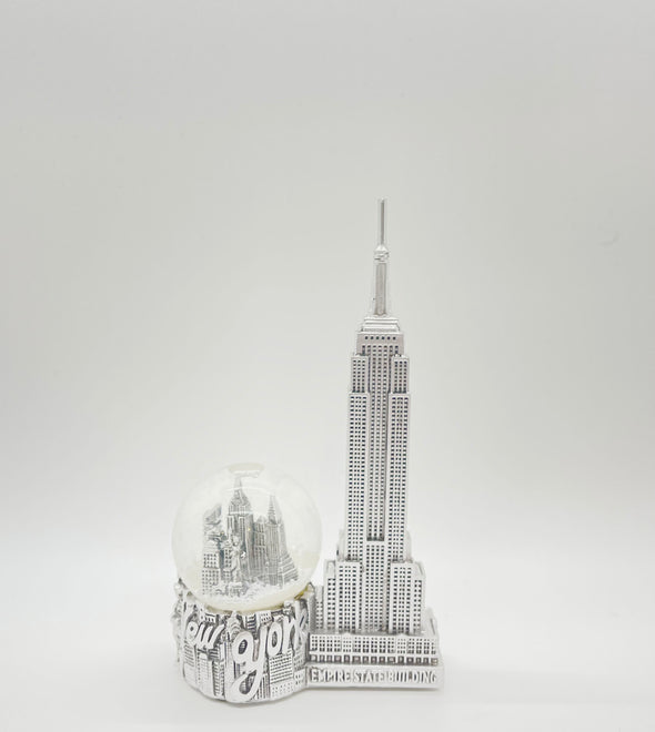 Souvenir Snow Globe and Empire State Building 45mm