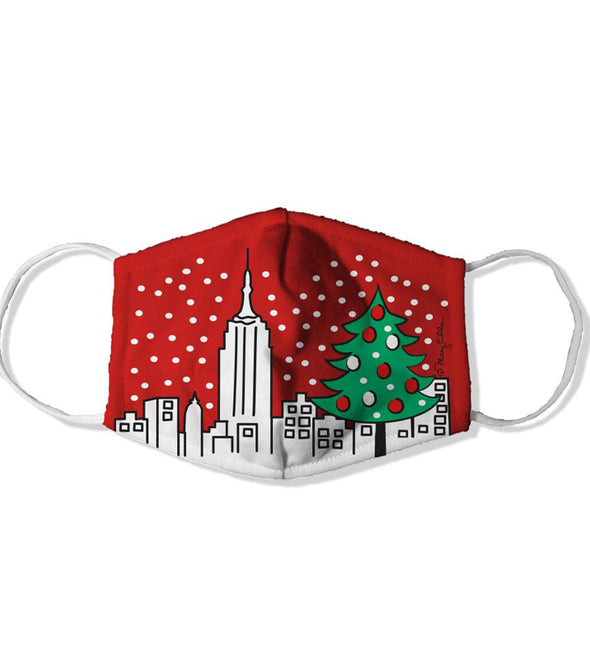 New York City Face Mask Christmas