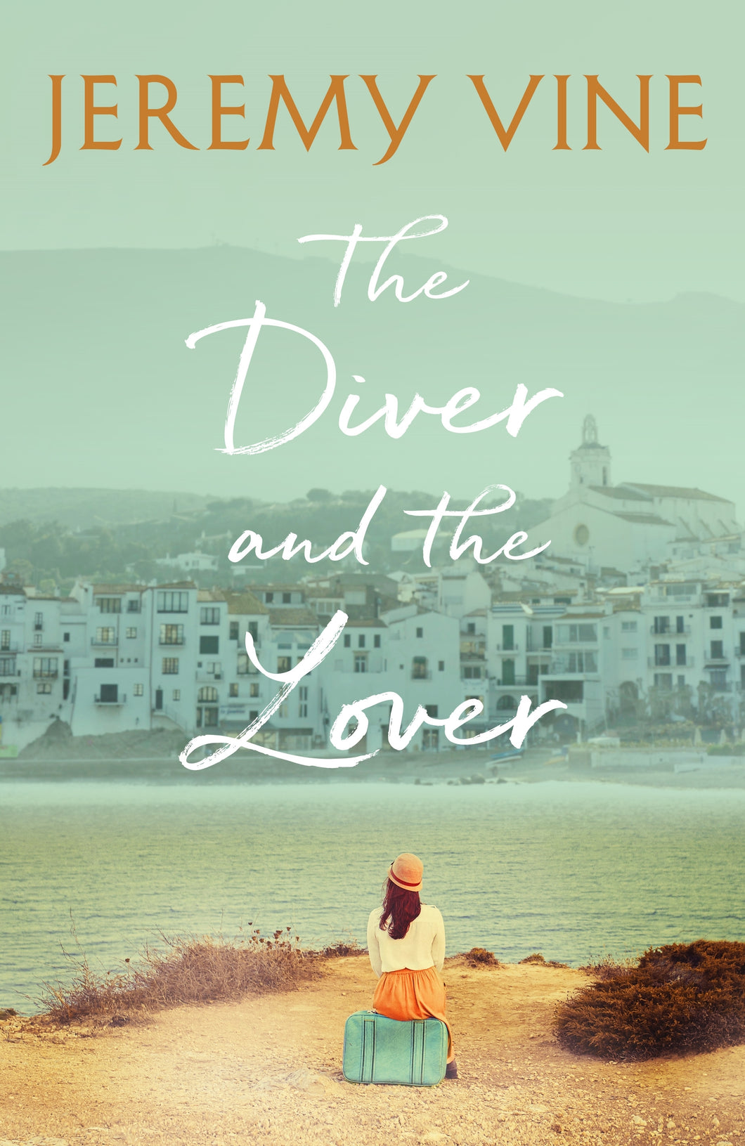 The Diver and The Lover (Hardback) - Jeremy Vine - SIGNED