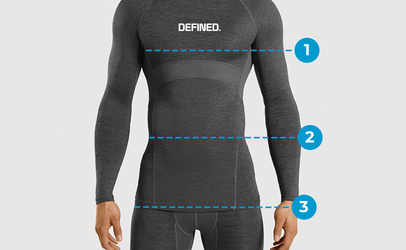 Mens Tops Size Guide