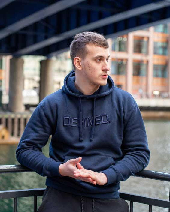 Defined Classic Mens' Hoodie - Defined Apparel