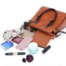 Load image into Gallery viewer, Women's Bags PU Leather Bag Set 4 Pieces Purse Set
