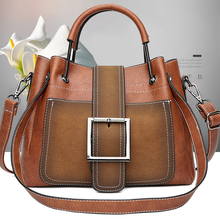 Load image into Gallery viewer, Hand bill of lading shoulder cross woman's bag