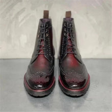 Load image into Gallery viewer, Vintage Leather Rub Color Martin Boots