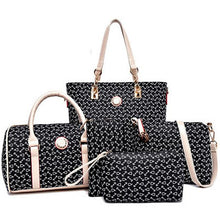Load image into Gallery viewer, Designer Brand Bags PU Leather Bag Set 5 Pcs