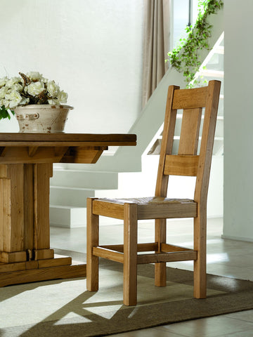 French Mountain Oak - Dining Chair - Grande plank back