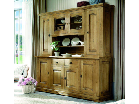 French Country Oak - Jonte Range dresser 4 door