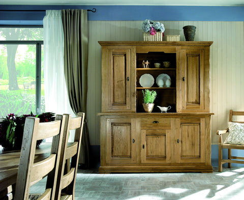 French Country Oak - Jonte Range dresser 3 door