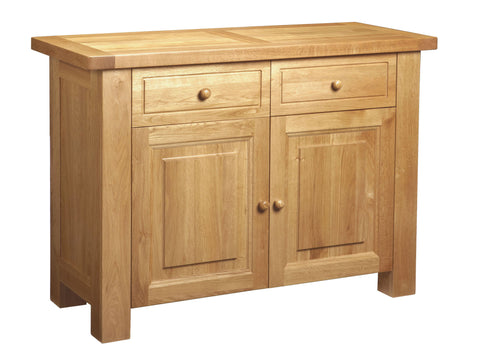 European Acorn Oak - sideboard 2 door - 2 drawers