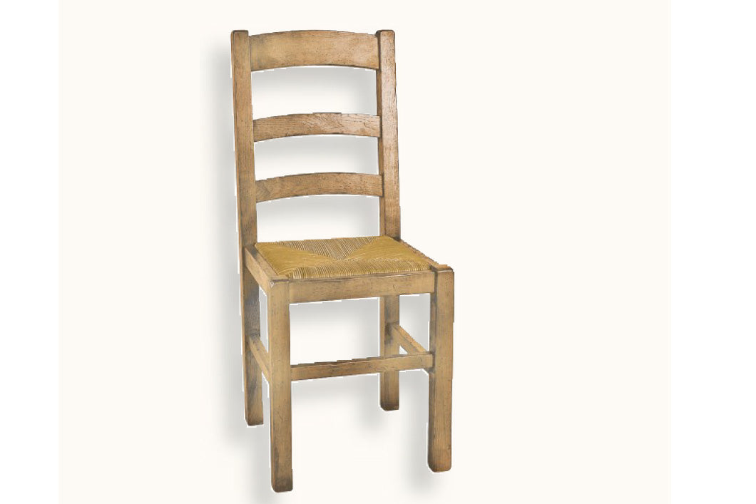 check out 2bdde 89429 French Mountain Oak - Dining Chair - small ladderback chair