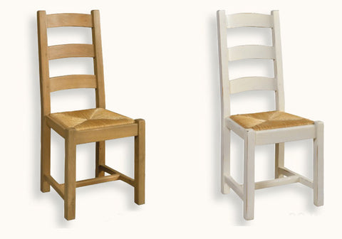 French Mountain Oak - Dining Chair - ladderback