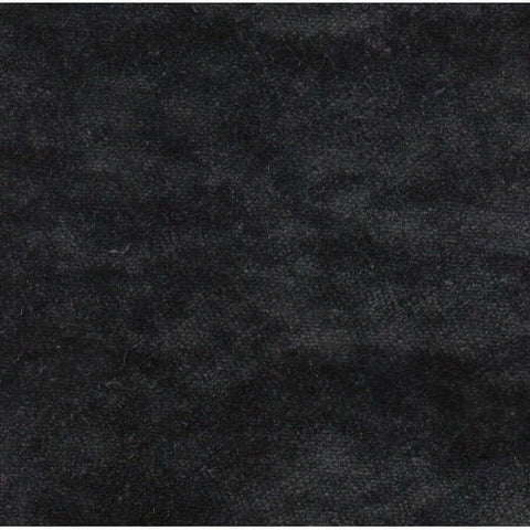 Pastiche Crushed Velvet Collection: Plain Black - SR18074