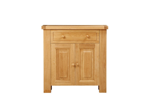 European Acorn Oak - sideboard small 2 door - 1 drawer
