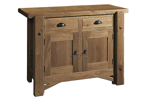 French Mountain Oak - Alpine Range sideboard 2 door