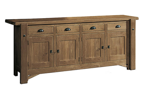 French Mountain Oak - Alpine Range sideboard 4 door