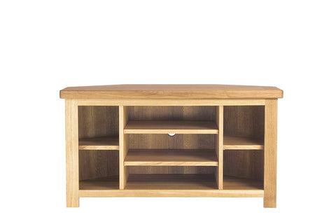 European Acorn Oak - tv/media corner unit