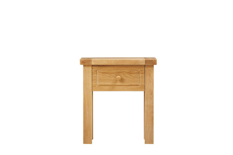 European Acorn Oak - lamp table - 1 drawer