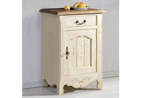 French Mountain Oak - Provence Range sideboard 1 door