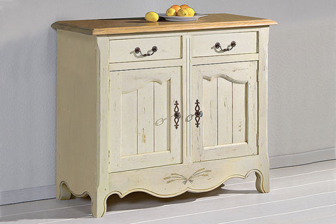 French Mountain Oak - Provence Range sideboard 2 door