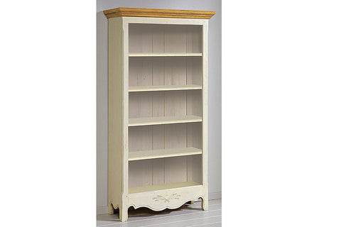 French Mountain Oak - Provence Range Bookcase - wide and tall