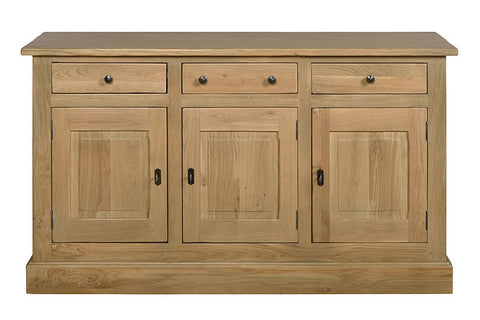 French Mountain Oak - Studio Range sideboard 3 door
