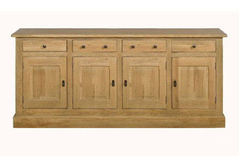 French Mountain Oak - Studio Range sideboard 4 door