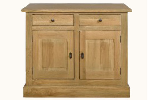 French Mountain Oak - Studio Range sideboard 2 door