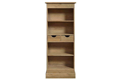 French Mountain Oak - Studio Range bookcase - narrow and tall