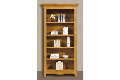 French Mountain Oak - Villages Range Bookcase - wide and tall