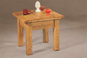 French Mountain Oak - Villages Range Lamp Table