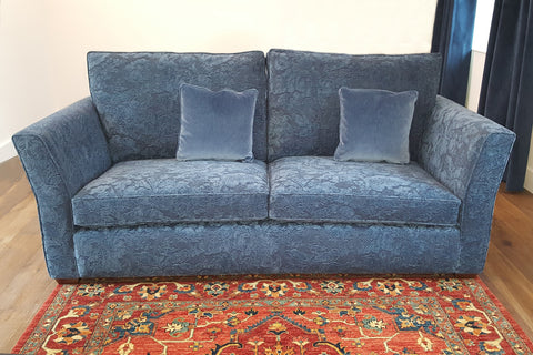 Rhapsody Range Velvet Armchair and Sofas