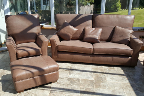 Rhapsody Range Leather Armchair and Sofas